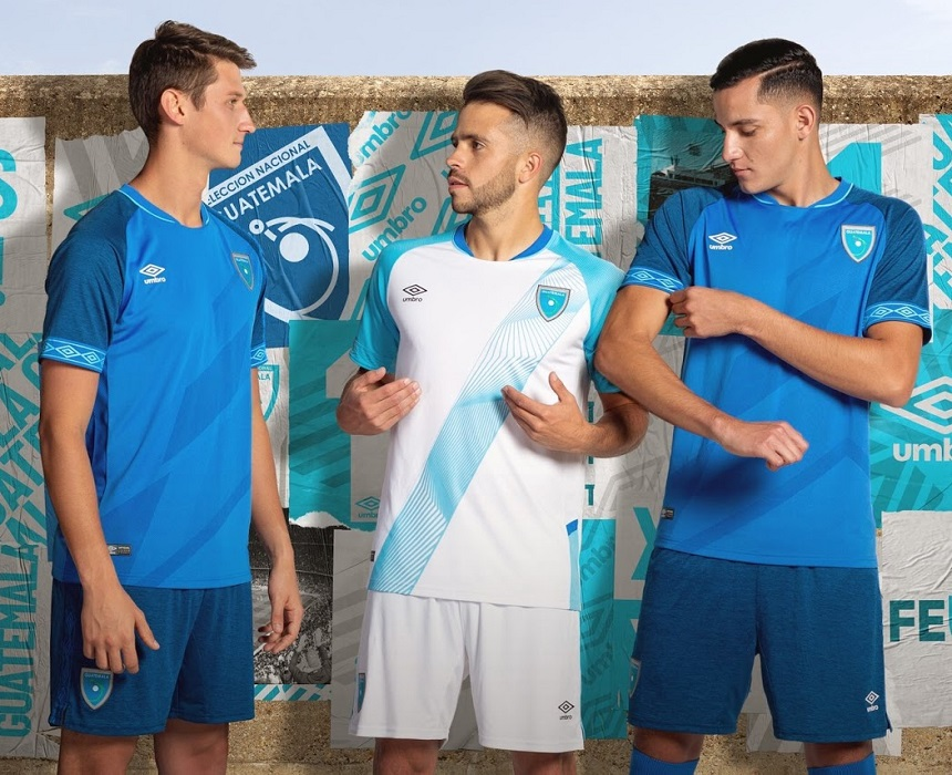 brand new b5a4f 4a786 Guatemala 2019/20 Umbro Home and Away Kits - FOOTBALL ...