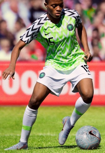 Nigeria 2019 Women's World Cup Nike Football Kit, Soccer Jersey, Shirt
