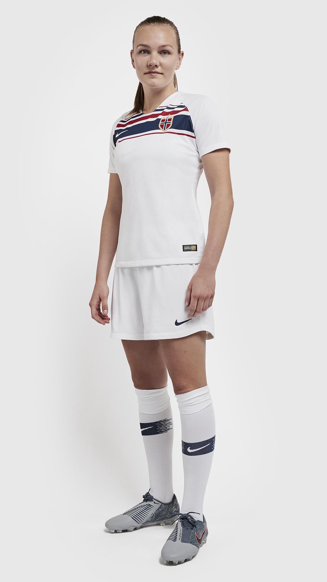 9280bab3f Norway 2019 Women s World Cup Nike Kits - FOOTBALL FASHION.ORG