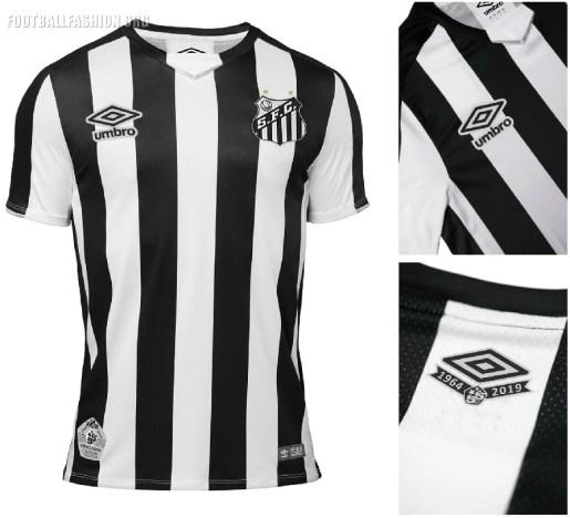 Santos FC 2019 Umbro Away Football Kit, Soccer Jersey, Shirt, Camisa, Camiseta
