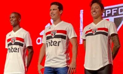 São Paulo FC 2019 2020 adidas Soccer Jersey, Football Kit, Shirt, Camiseta de Futbol, Camisa I do Futebol