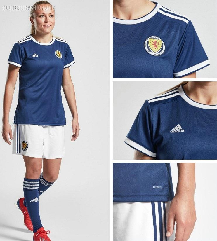 wholesale dealer c14c6 3f7b6 Scotland 2019 Women's World Cup adidas Kits - FOOTBALL ...