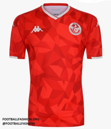 Tunisia 2019 Africa Cup of Nations Home Football Kit, Soccer Jersey, Shirt, Maillot Tunisie