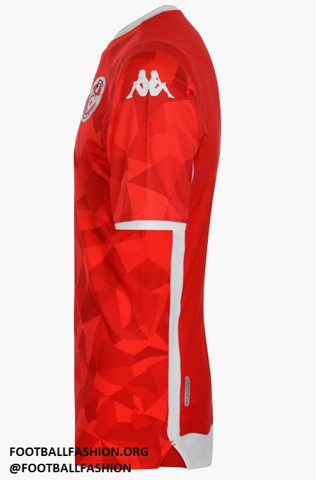 wholesale dealer 002cd d1de1 Tunisia 2019 Africa Cup of Nations Kappa Away Kit - FOOTBALL ...