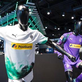Borussia Mönchengladbach 2019 2020 PUMA Home Football Kit, Soccer Jersey, Shirt, Trikot, Maillot, Tenue, Camisa, Camiseta