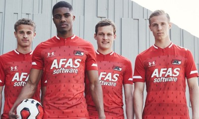AZ 2019 2020 Under Armour Home Football Kit, Soccer Jersey, Shirt, Tenue
