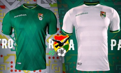 Bolivia 2019 Copa América Home and Away Football Kit, Soccer Jersey, Shirt, Camiseta de Futbol