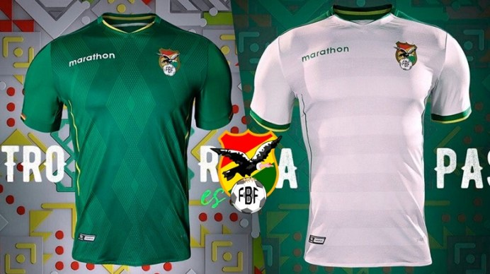 Bolivia 2019 Copa América Home and Away Football Kit, Soccer Jersey, Shirt, Camiseta de Futbol