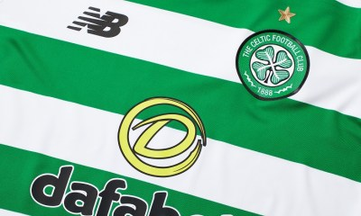 Celtic FC 2019 2020 New Balance Home Football Kit, Soccer Jersey, Shirt