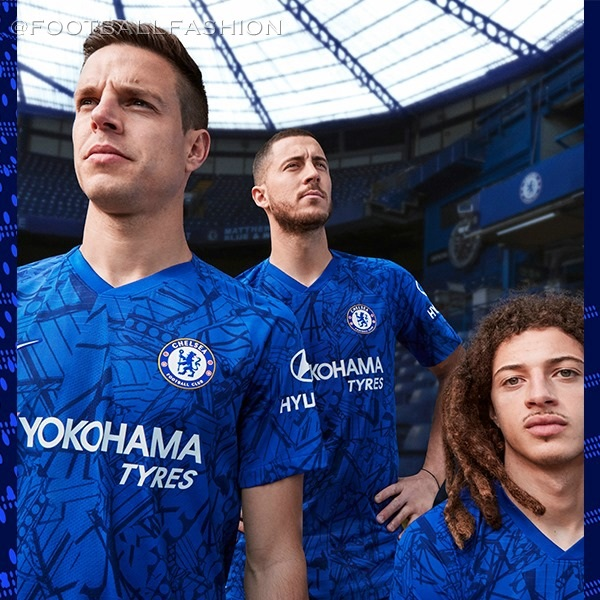 55a4fbffe Chelsea s 2019 20 Home Kit Celebrates The Bridge - FOOTBALL FASHION.ORG