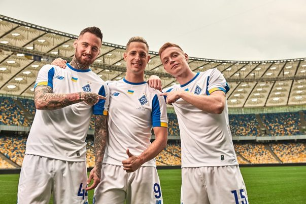 Dynamo Kyiv 2019 2020 New Balance Home and Away Football Kit, Soccer Jersey, Shirt