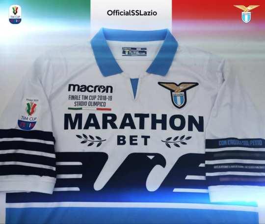 SS Lazio 2019 Coppa Italia Final Football Kit, Soccer Jersey, Shirt, Gara, Maglia