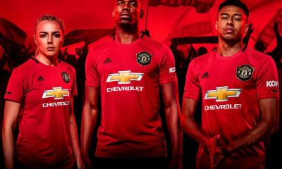 Manchester United 2019 2020 Red adidas Home Football Kit, Soccer Jersey, Shirt, Camiseta, Camisa, Maillot, Trikot