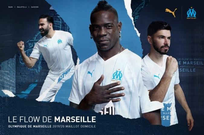 Olympique Marseille 2019 2020 PUMA Third Kit, Soccer Jersey, Shirt, Maillot