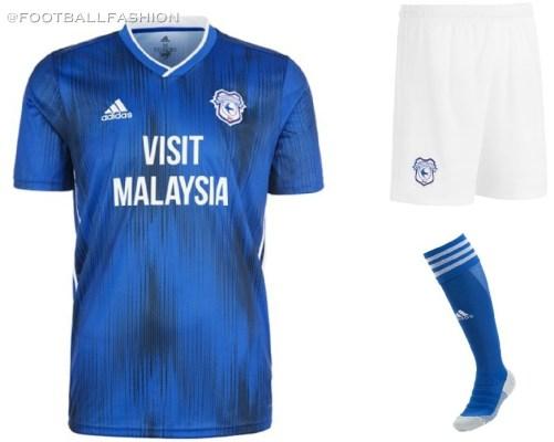 Cardiff City 2019 2020 adidas Home and Third Football Kit, SOccer Jersey, Shirt