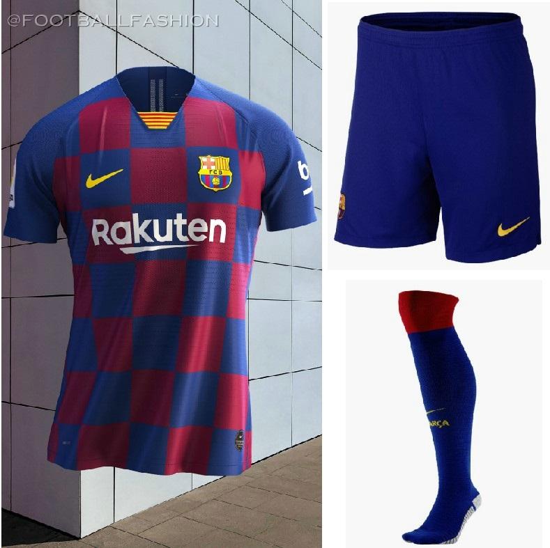 new product 977e3 53ed4 FC Barcelona 2019/20 Nike Home Kit - FOOTBALL FASHION.ORG