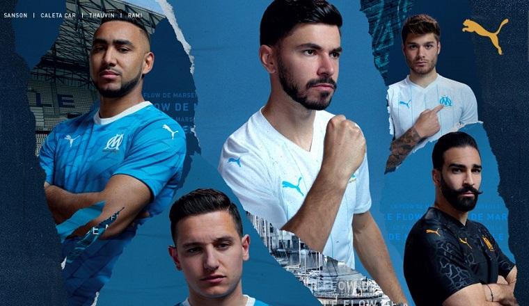 Olympique de Marseille 2019/20 PUMA Away and Third Kits - FOOTBALL ...