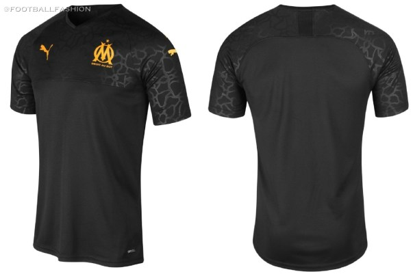 Olympique Marseille 2019 2020 PUMA Away and Third Kit, Soccer Jersey, Shirt, Maillot