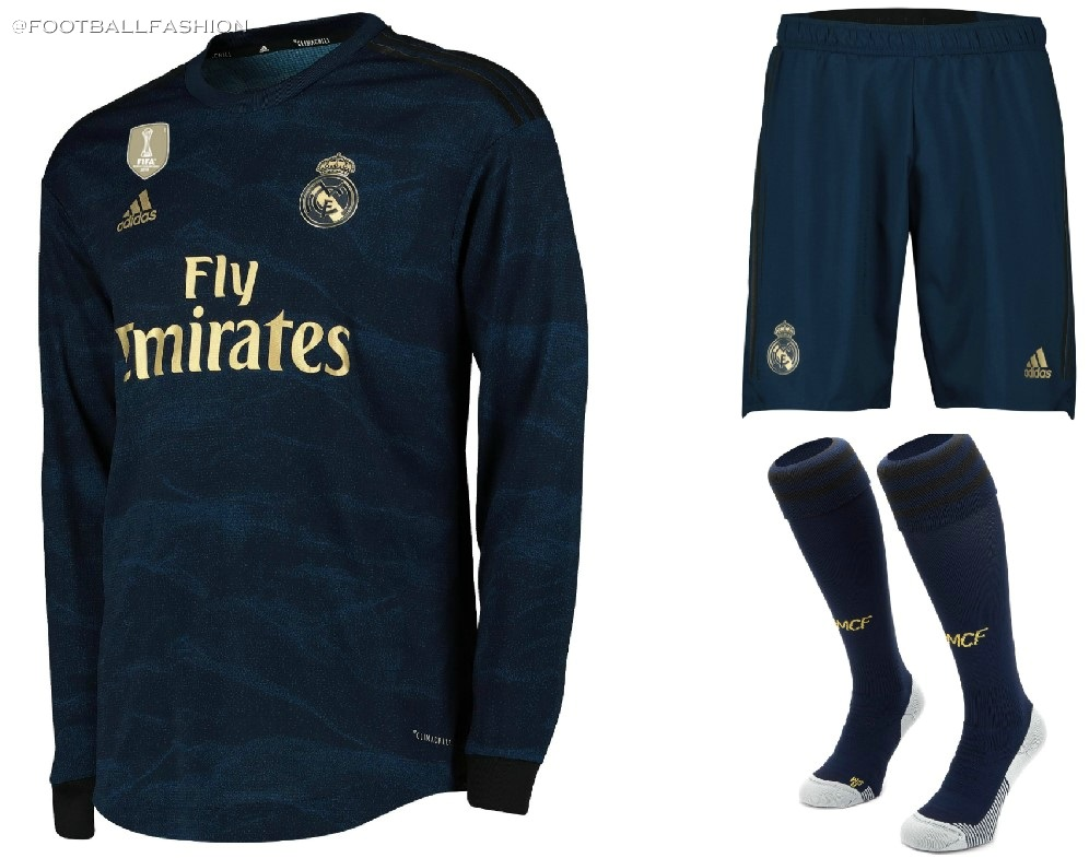 wholesale dealer 42c42 e50ff Real Madrid 2019/20 adidas Away Kit - FOOTBALL FASHION.ORG