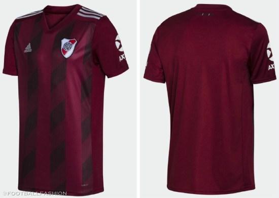 River Plate 2019 2020 adidas Away Football Kit, Soccer Jersey, Shirt, Camiseta Suplente