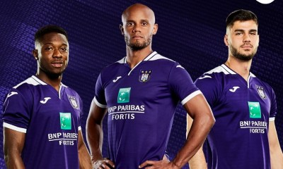 RSC Anderlecht 2019 2020 Joma Home Football Kit, Soccer Jersey, Shirt, Maillot, Tenue