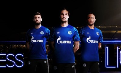 Schalke 04 2019 2020 Umbro Home Football Kit, Soccer Jersey, Shirt, Trikot, Heimtrikot