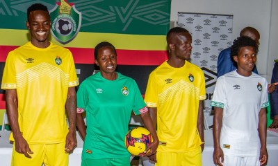 Zimbabwe 2019 Africa Cup of Nations AFCON CAN Umbro Football Kit, Soccer Jersey, Shirt