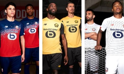 Lille OSC 2019 2020 New Balance Football Kit, Soccer Jersey, Shirt, Maillot