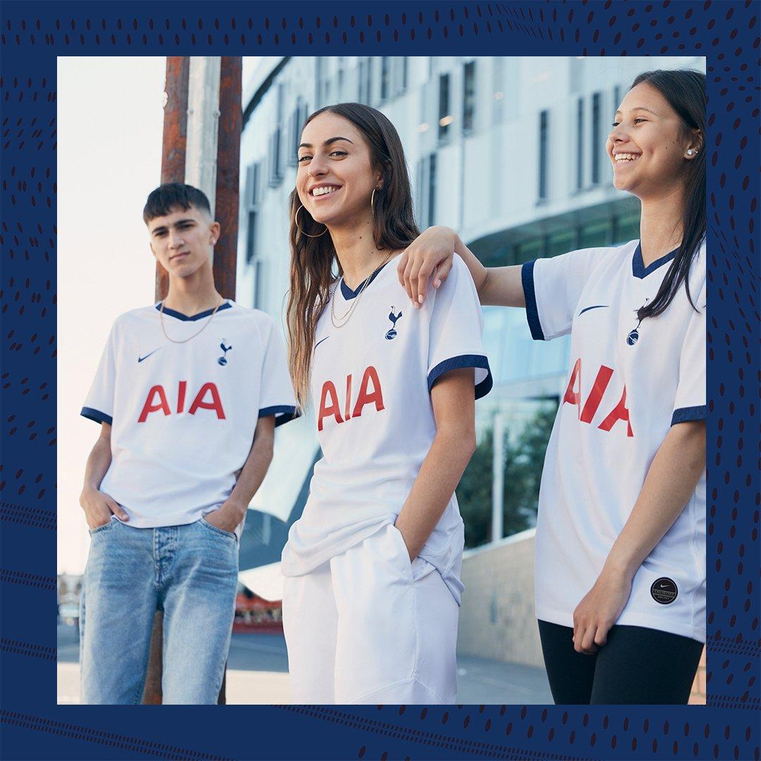 brand new 611dc 98c95 Tottenham Hotspur 2019/20 Nike Home and Away Kits - FOOTBALL ...