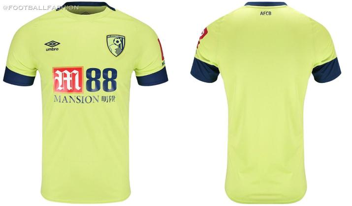 AFC Bournemouth 2019 2020 Umbro Third Football Kit, Soccer Jersey, Shirt