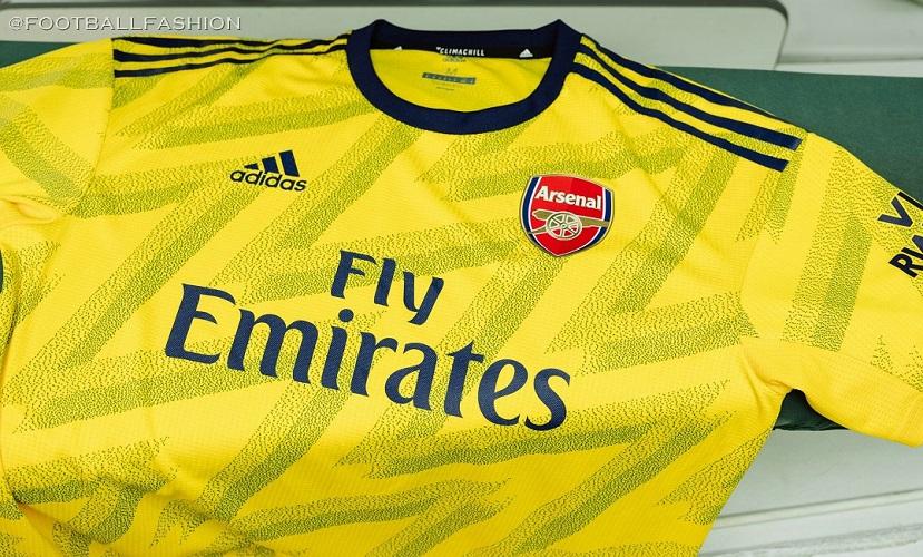 Arsenal 2019 20 Adidas Bruised Banana Away Kit Football Fashion Org