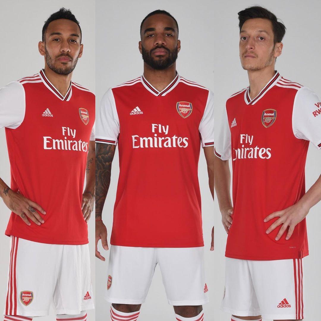 Arsenal FC 2019/20 adidas Home Kit - FOOTBALL FASHION.ORG