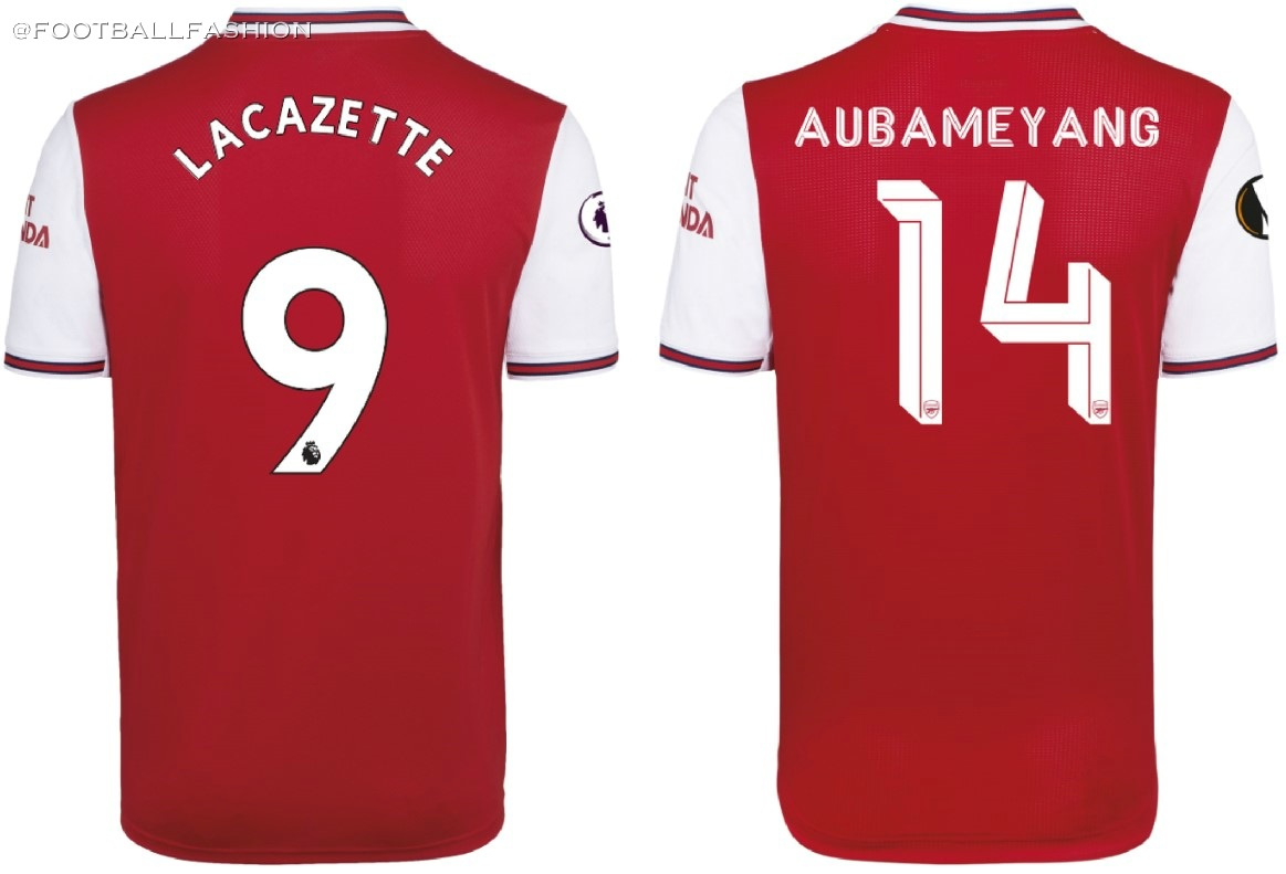 best website f7745 1b9ec Arsenal FC 2019/20 adidas Home Kit - FOOTBALL FASHION.ORG
