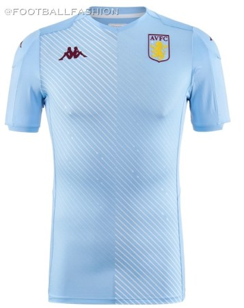 Aston Villa 2019 2020 Kappa Away Football Kit, Soccer Jersey, Shirt
