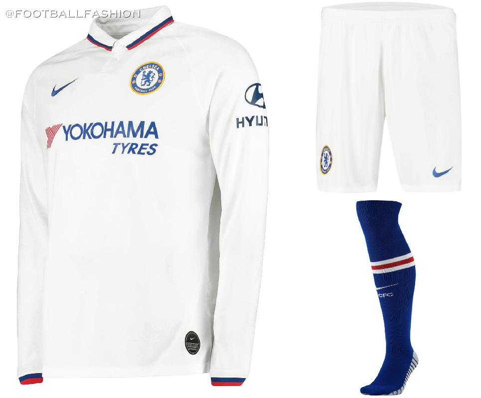 best sneakers 737e5 dc724 Chelsea Goes Mod for 2019/20 Nike Away Kit - FOOTBALL ...