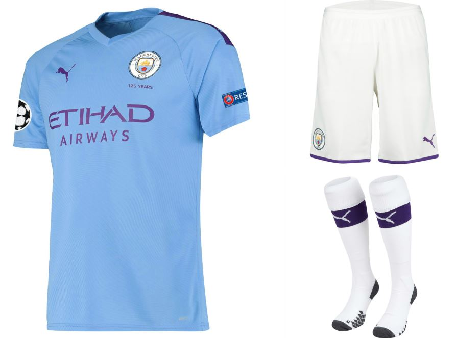 the latest 67f6e 74837 Manchester City 2019/20 PUMA Home and Away Kits - FOOTBALL ...