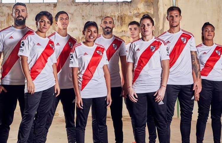 River Plate 2019 2020 adidas Home Football Kit, Soccer Jersey, Shirt, Camiseta de Futbol