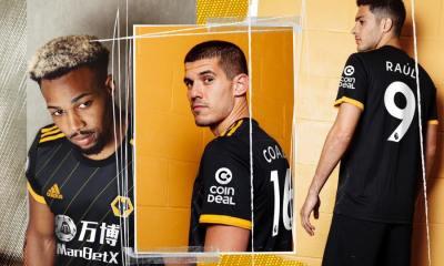 Wolverhampton Wanderers 2019 2020 adidas Away Football Kit, Soccer Jersey, Shirt, Camisa, Camiseta