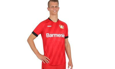Bayer 04 Leverkusen 2019 2020 Jako Football Kit, Soccer Jersey, Shirt, Trikot