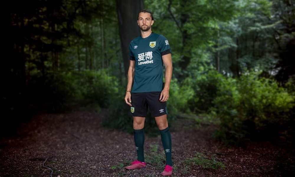Burnley 2019 2020 Umbro Third Football Kit, Soccer Jersey, Shirt