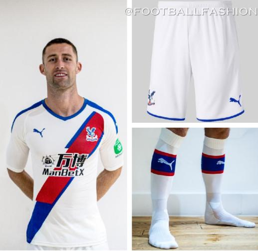 Crystal Palace 2019 2020 PUMA Third Football Kit, Soccer Jersey, Shirt, Camiseta, Maillot
