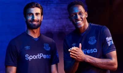 Everton FC 2019 2020 Umbro Third Football Kit, Soccer Jersey, Shirt, Camiseta, Camisa, Trikot, Maillot