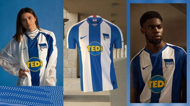 Hertha BSC 2019 2020 Nike Home and Away Football Kit, Soccer Jersey, Shirt, Trikot