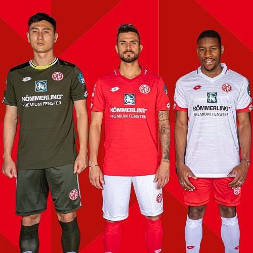 Mainz 05 2019 20 Lotto Kits Football Fashion