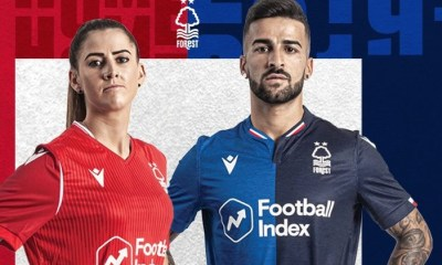 Nottingham Forest 2019 2020 Macron Football Kit, Soccer Jersey, Shirt
