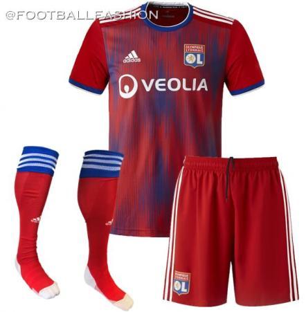 Olympique Lyon 20192020 adidas Third Football Kit, Soccer Jersey, Shirt, Maillot
