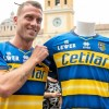 Parma Calcio 2019 2020 Erreà Away Football Kit, Soccer Jersey, Shirt, Gara, Maglia