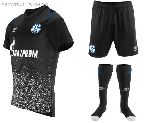 FC Schalke 04 2019 2020 Umbro Away and Third Football Kit, Soccer Jersey, Trikot