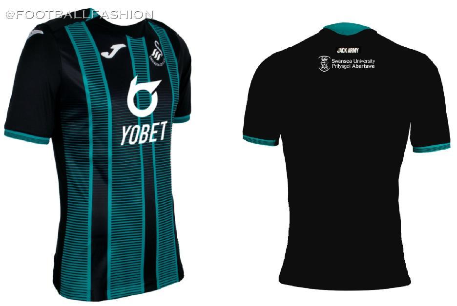 wholesale dealer a5d3a ed164 Swansea City 2019/20 Joma Home and Away Kits - FOOTBALL ...