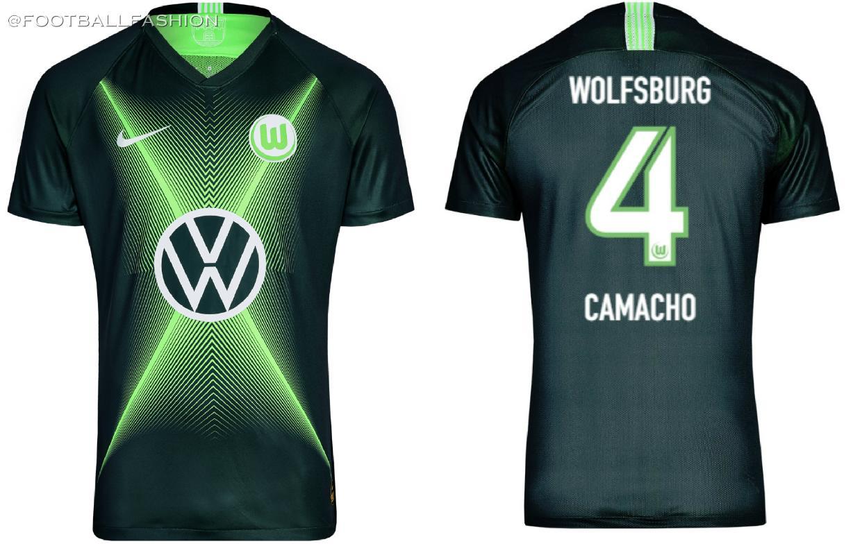 half off ea855 6b3ee VfL Wolfsburg 2019/20 Nike Kits - FOOTBALL FASHION.ORG